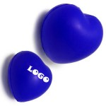 """Custom Printed 2 3/4"""" Ball Squeezie or Stress Reliever Heart Shape"""
