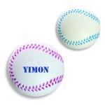 Custom Imprinted Baseball Shape Stress Reliever / Fun Toy
