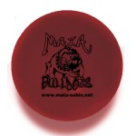 Solid Colored Burgundy Stress Ball Custom Imprinted