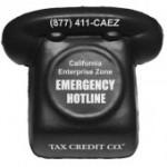 Black Phone Stress Reliever Custom Printed