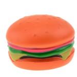 Logo Branded Hamburger Shape Stress Ball