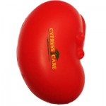 Custom Imprinted Red Kidney Stress Reliever