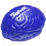 Blue Brain Stress Reliever Custom Printed