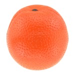 Orange Stress Reliever Ball Logo Branded