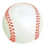 Custom Printed Big Rubber Baseball