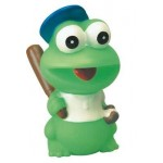 Custom Imprinted Rubber Baseball Frog©
