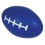 Custom Imprinted Blue Football Squeezies Stress Reliever