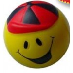 Sport Series Smile Ball Stress Reliever Custom Imprinted