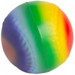 Custom Imprinted Rainbow Baseball Squeezies Stress Reliever
