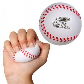 Baseball Super Squish Stress Reliever Custom Printed