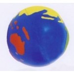 Logo Branded Sport Series Earth Ball Stress Reliever