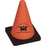 Custom Imprinted Construction Cone Stress Reliever