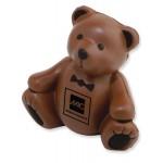 Teddy Bear Stress Reliever Logo Branded