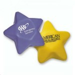 Logo Branded PU Stress Reliever Star Shape