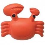 Custom Imprinted Crab Stress Reliever