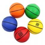 """2 1/2"""" Stress Ball - Basketball Logo Branded"""
