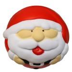 Logo Branded Santa Claus Stress Ball