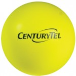 Yellow Squeezies Stress Reliever Ball Logo Branded