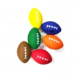 Logo Branded PU Stress Relief Rugby