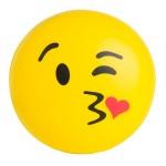 Emoji Kiss Kiss Squeezies Stress Reliever Custom Imprinted