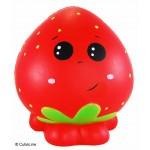 CutieLine Slow Rising Scented Strawberry Buddy Squishy Custom Imprinted