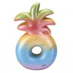 Custom Imprinted Slow Rising Scented Rainbow Pineapple Donut Squishy
