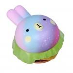 Slow Rising Scented Galaxy Rabbit Burger Squishy Logo Branded
