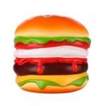 Custom Printed Slow Rising Scented Beef Burger Squishy
