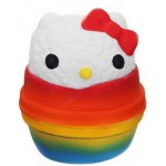 Custom Imprinted Slow Rising Scented Rainbow Onigiri Sushi Squishy