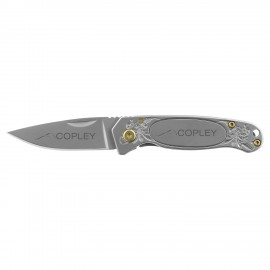 Coast Mini Frame Lock Folding Knife Logo Branded