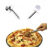 Single Wheel Stainless Steel Pizza Cutter Logo Branded