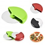 Stainless Steel Round Shape Pizza Cutter Custom Engraved