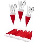 Christmas Knife And Fork Cover Logo Branded