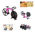 Logo Branded Bicycle Shape Pizza Cutter