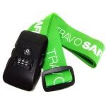"Custom Imprinted 2"" Silkscreen Combination Lock Luggage Strap"