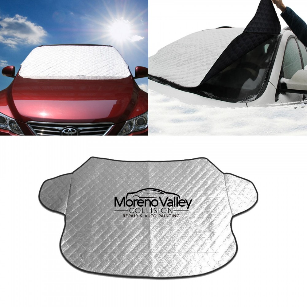 Logo Branded Car Windshield Covers