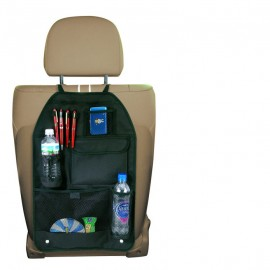 Custom Printed Deluxe Car Organizer Bag w/ Headrest Hanger
