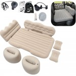 Logo Branded Inflatable Car Air Mattress Bed