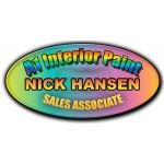 """Custom Printed Name Badges, Metal, Digital, 1.5""""x3"""" Oval"""