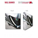 Wall Banner 8 by 10 ft Logo Branded