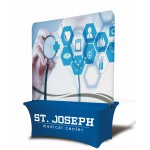 Custom Imprinted 8' Table Top Double sided Billboard Banner (Full Height)