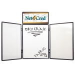 4' Show 'N Write Display (with Header Graphic Panel) Logo Branded