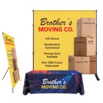 Trade Show Booth Display - Starter Package Custom Printed