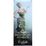 Custom Imprinted Large Economy X-Stand Polyester Banner Display