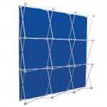 Custom Printed Deluxe GeoMetrix 9-Quad Back Wall Panel