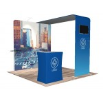 10'x10' Quick-N-Fit Booth - Package # 1102 Logo Branded