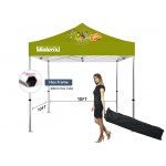Logo Branded 10' x 10' Deluxe Event Tent Kit - 40mm Hex Frame - Full Color Graphics