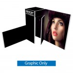 Custom Printed Alpine Booth Configuration B - Graphic only