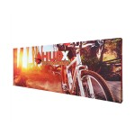 Custom Printed 20ft Fabric Pop Up Display - Straight - With Graphic