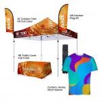 Custom Imprinted Custom Tent Team Show Kit Set C (for 6-10 members)